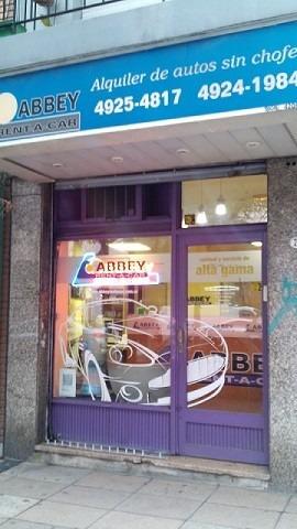 alquiler de autos sin chofer - caballito /promoción empresas
