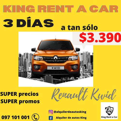 alquiler de autos somos los mas baratos llame ya ! king