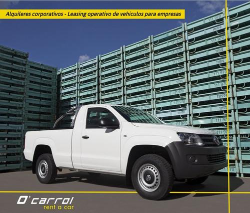 alquiler de autos y camionetas, leasing operativo, ocarrol