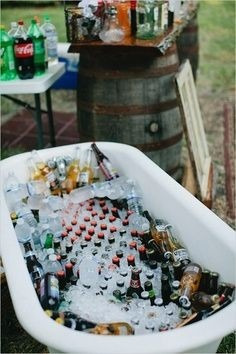 alquiler de bañera antigua- champagnera  frapera eventos