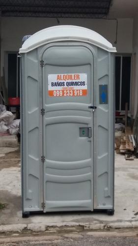 alquiler de baños químicos