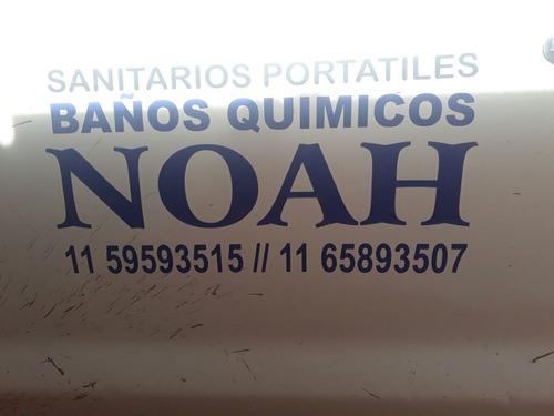 alquiler de baños quimicos obras eventos noah