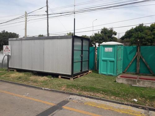 alquiler de baños químicos/cabinas desinfectantes