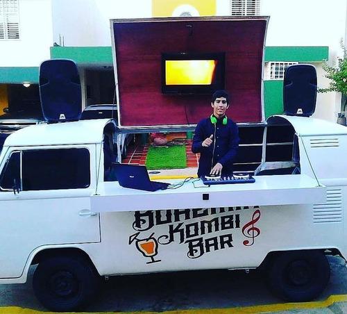 alquiler de barra movil kombi bar