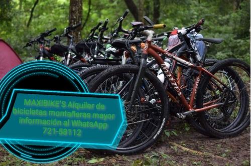 alquiler de bicicletas montañeras