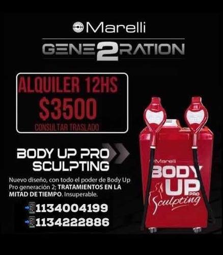 alquiler de body up pro