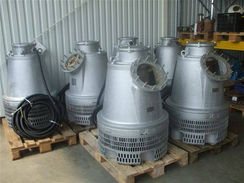 alquiler de bombas flygt , de 1 hp a 100 hp