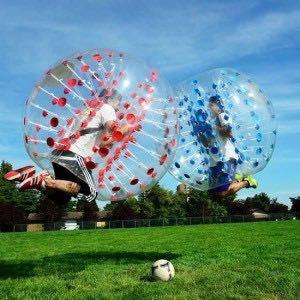 alquiler de bubble soccer- futbol burbuja- bolas chocadoras-