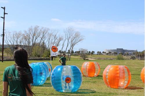 alquiler de bubble soccer para cumpleaños y festejos!