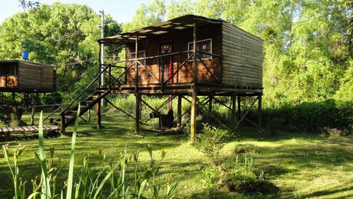 alquiler de cabaña en el delta, tigre - rio / arroyo leber