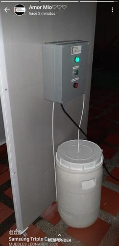alquiler de cabina de desinfección