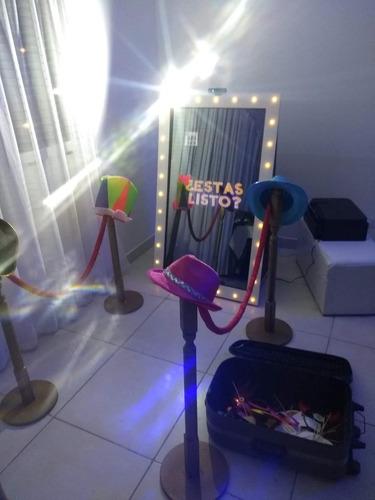 alquiler de cabina de fotos, espejo mágico , zona norte