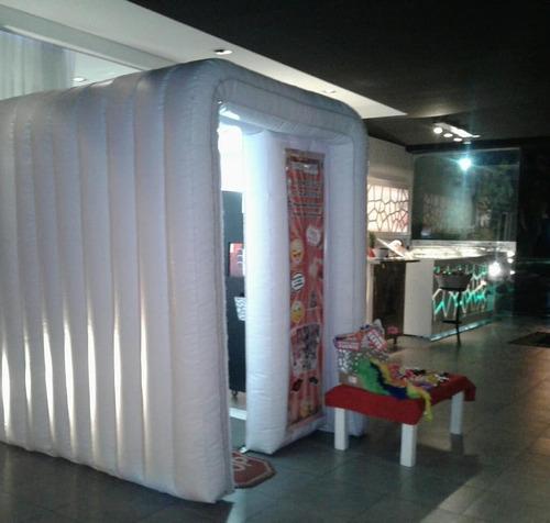 alquiler de cabinas fotograficas inflables - vicro box