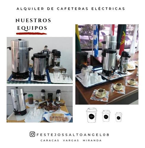 alquiler de cafeteras eléctricas