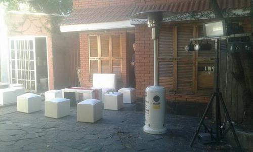 alquiler de calefactores,hongos,estufas,turbinas, industrial