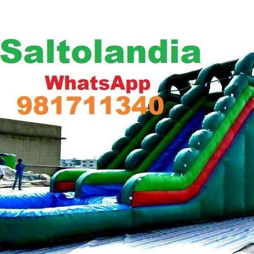 alquiler de camas saltarinas juegos inflables wsp: 981711340