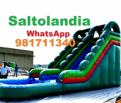 Alquiler de camas saltarinas juegos inflables wsp for Ventas piscinas inflables