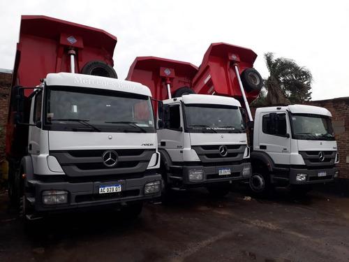 alquiler de camion 6x4, 8x4, batea, retro, bobcat, servicios
