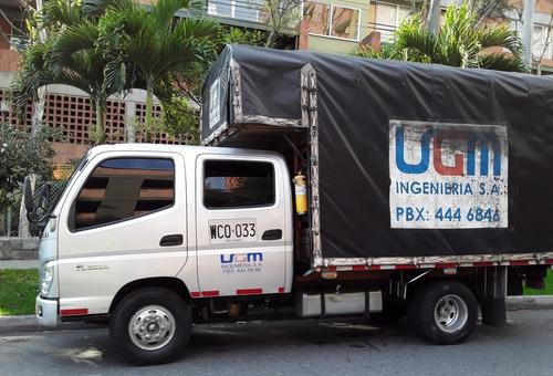 alquiler de camion