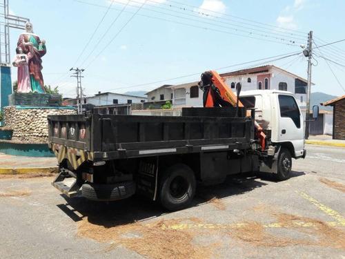 alquiler de camión con brazo pitman
