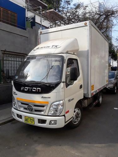 alquiler de camión foton