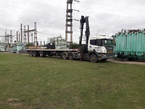 alquiler de camiones con hidrogrua hidroelevador