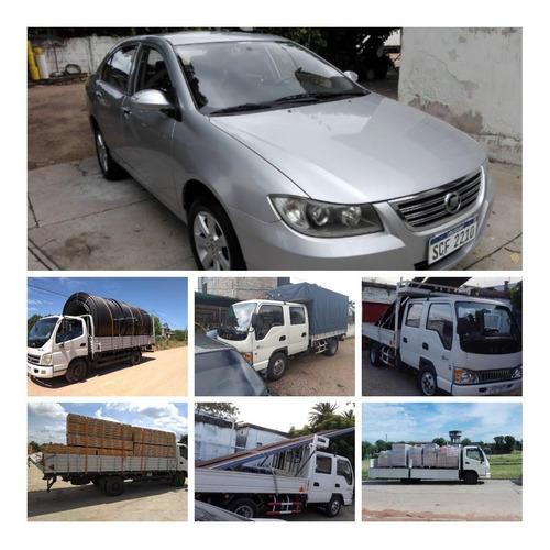 alquiler de camiones, fletes de transporte profesional