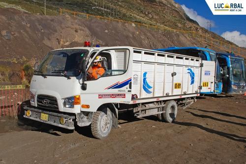 alquiler de camiones para interior mina/ cerro de pasco