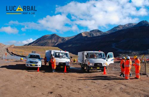alquiler de camionetas 4x4, camiones, buses - junin