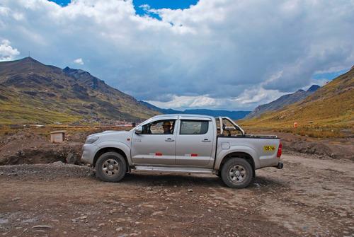alquiler de camionetas 4x4 en cerro de pasco