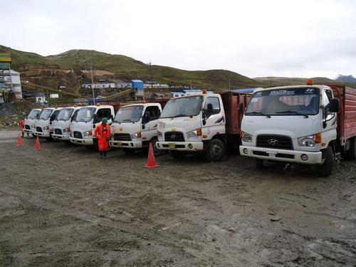 alquiler de camionetas 4x4 para mineria, construccion