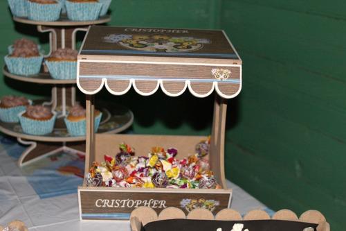 alquiler de candy bar personalizado