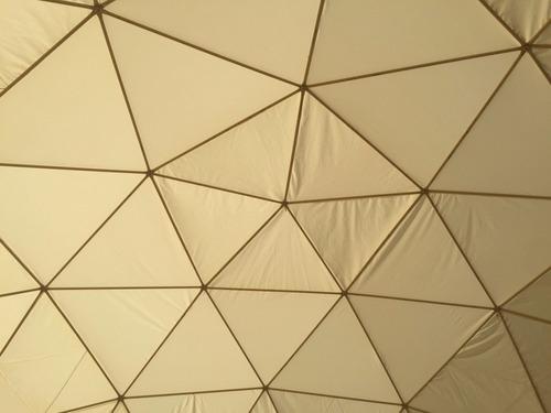 alquiler de carpa domo geodesico eventos. 155 m² - 14 m diam
