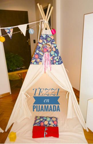 alquiler  de carpas indias tipi para pijamada party