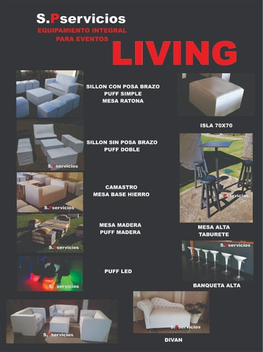 alquiler de carpas living estufa gazebos