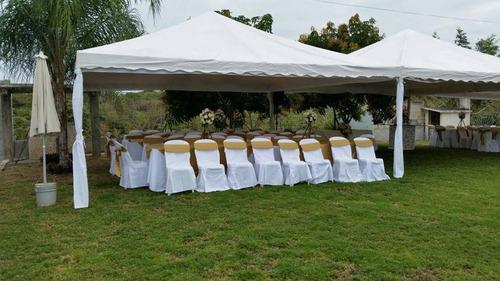 alquiler de carpas, mesas, sillas y todo para su evento