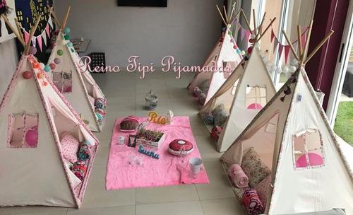 alquiler de carpas para pijamadas carpas tipi pijama party