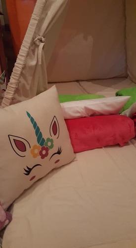 alquiler de carpas piyamadas tippi, , piyama party unicornio