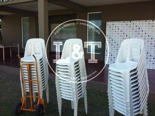 alquiler de carpas sillas mesas living gazebos  zona oeste.