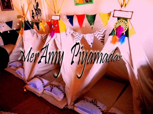 alquiler de carpas tepees para pijamadas