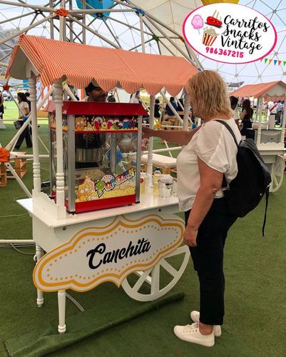 alquiler de carritos snacks vintage