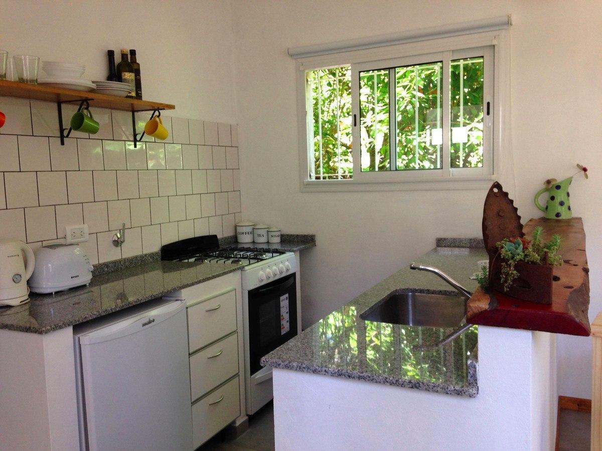 alquiler de casa nueva en valeria del mar - 2 ambientes