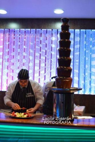alquiler de cascada de chocolate tatacuá royal o servicio