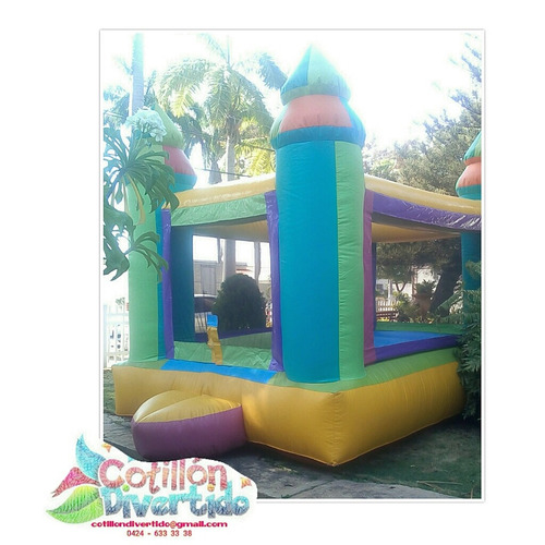 alquiler de castillo inflable para fiestas