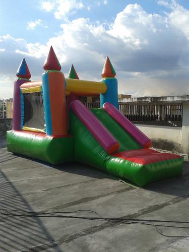 alquiler de castillos inflables con tobogán 6x3