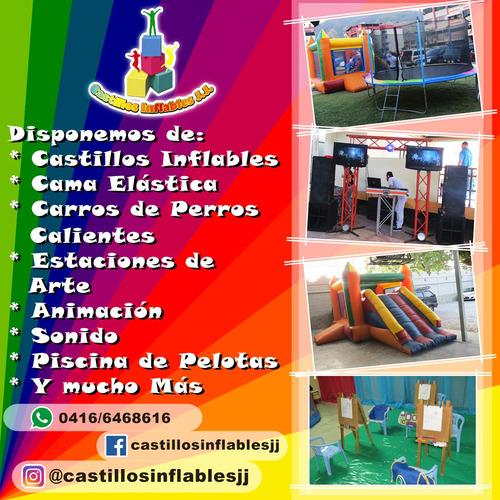 alquiler de castillos inflables, fiestas infantiles.