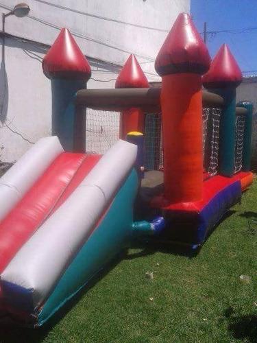 alquiler de castillos inflables,, metegol  mesas de tejo