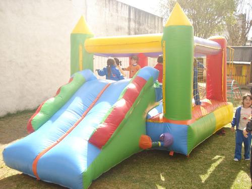 alquiler de castillos inflables metegol plaza blanda