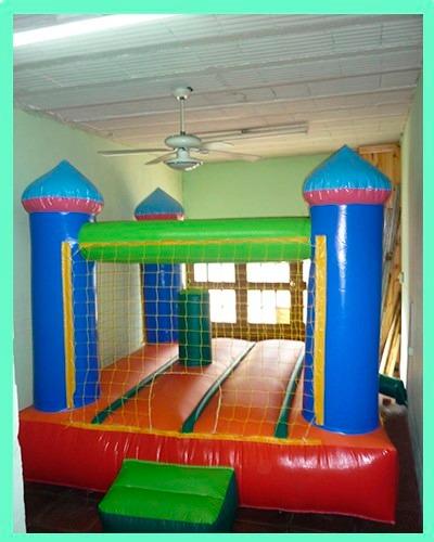alquiler de castillos inflables, metegoles, tejos y plazas b