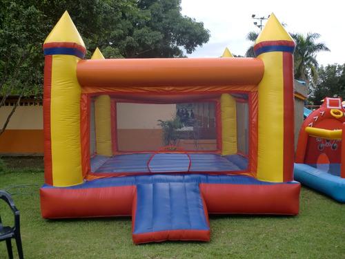 alquiler de castillos inflables, todo para tus fiestas.